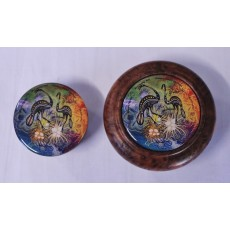 Resin Coated Bowl Lid/Insert (Large)